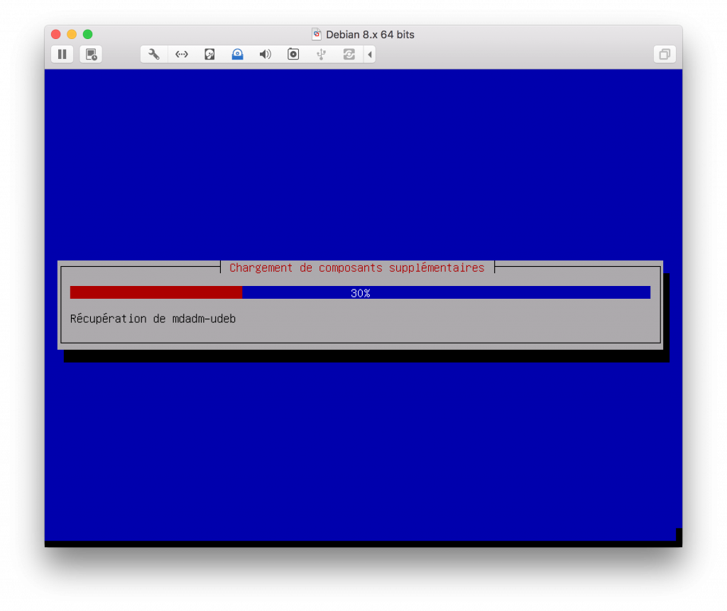 installation composants serveur DEBIAN