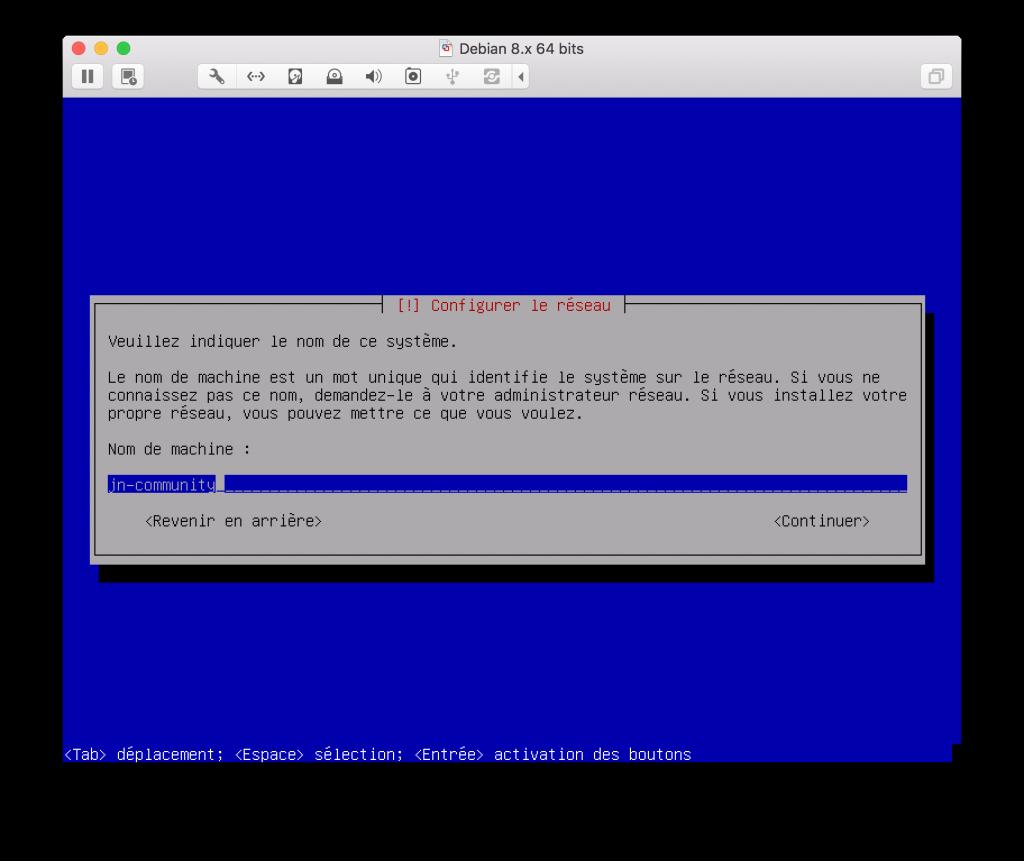 Configuration réseau DEBIAN - Jaguar Network