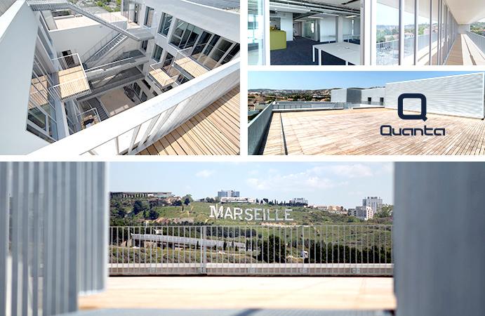 Quanta siège 3.0 JN et Campus dédié à l'innovation