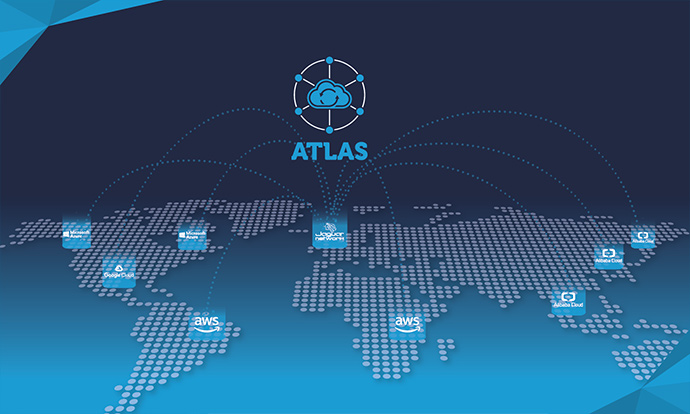 Orchestrateur multi-cloud Atlas de Jaguar Network.