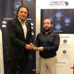 Remise du trophée Club Décision DSI 2018 Jaguar Network, opérateur national.