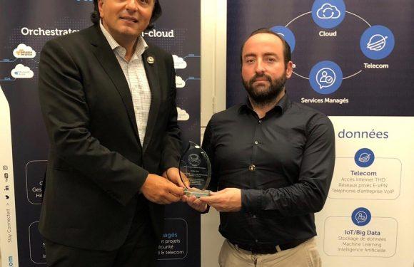 Remise du Prix Décision DSI à Paris pour Jaguar Network