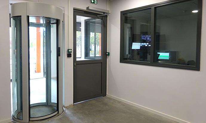 Hall sécurisé Datacenter Rock Lyon Jaguar Network DCforData