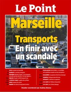 Couverture le point Marseille et la mobilité - octobre 2018