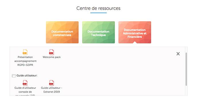 Espace Ressource dans le nouvel Extranet Jaguar Network