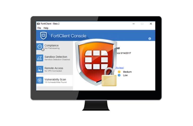 Forticlient : Installation et configuration du FortiClient