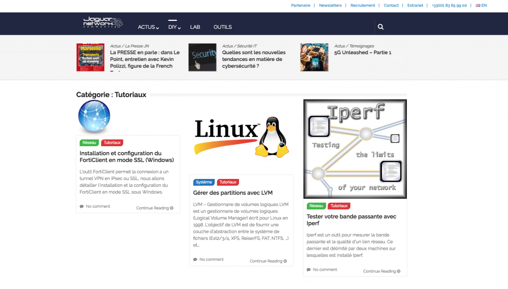 Tutoriaux JN Community by Jaguar Network