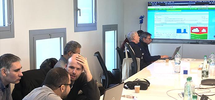 Journée simulation Jaguar Network - Cyberattaque - avec Harbor network