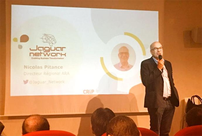Jaguar Network au Crip Lyon 2019 avec Nicolas Pitance