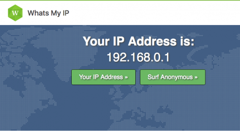 Whatsmyip - Quelle est mon adresse IP ?